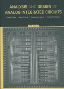 Analysis and Design of Analog Integrated Circuits 5th edition 9780470245996 0470245999