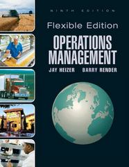 Operations Management, Flexible Version 9th edition 9780136025672 0136025676
