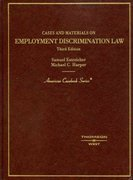 Cases and Materials on Employment Discrimination Law 3rd edition 9780314189776 0314189777