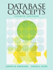 Database Concepts 4th edition 9780136086536 0136086535