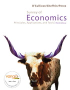 Survey of Economics and MyEconLab and EBook 2-Sem Package 3rd edition 9780135000465 0135000467