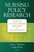Nursing Policy Research 1st edition 9780826133335 0826133339
