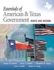 Essentials of American & Texas Government 3rd edition 9780205662845 0205662846
