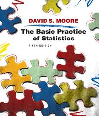 The Basic Practice of Statistics 5th edition 9781429224260 1429224266
