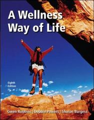 A Wellness Way of Life with Exercise Band 8th edition 9780077260712 0077260716