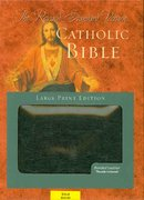 Revised Standard Version Catholic Bible Large Print Edition 0 9780195288728 0195288726