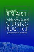 Evaluating Research for Evidence-Based Nursing Practice 1st Edition 9780803614895 0803614896