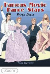 Famous Movie Dance Stars Paper Dolls 0 9780486467580 0486467589