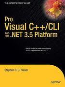 Pro Visual C++/CLI and the . NET 3. 5 Platform 1st Edition 9781430210535 1430210532