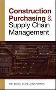 CONSTRUCTION PURCHASING & SUPPLY CHAIN MANAGEMENT 1st edition 9780071548854 0071548858