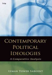Contemporary Political Ideologies 14th edition 9780495569398 0495569399