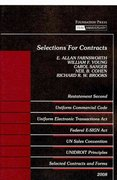 Selections for Contracts 75th edition 9781599415291 1599415291