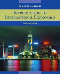 Introduction to International Economics 2nd edition 9780470405543 0470405546