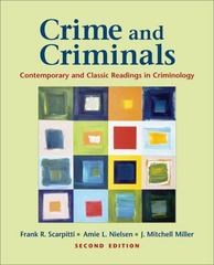 Crime and Criminals 2nd Edition 9780195370904 0195370902