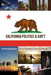 Custom Enrichment Module: California Politics and Government 10th edition 9780495566502 0495566500