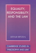 Equality, Responsibility, and the Law 1st edition 9780521003070 0521003075