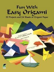 Fun with Easy Origami 0 9780486274805 0486274802