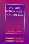 Equality, Responsibility, and the Law 0 9780521584524 0521584523