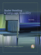 Bader Reading & Language Inventory 6th edition 9780135005538 0135005531