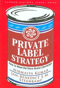 Private Label Strategy 1st edition 9781422101674 1422101673
