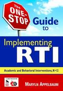 The One-Stop Guide to Implementing RTI 1st Edition 9781412964456 1412964458