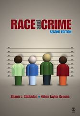 Race and Crime 2nd edition 9781412967785 1412967783
