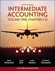 Intermediate Accounting 5th edition 9780073324654 0073324655