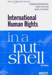 International Human Rights in a Nutshell 4th edition 9780314184801 0314184805