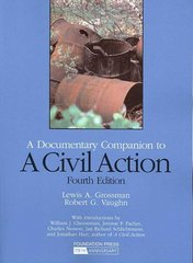 A Civil Action 4th edition 9781599415581 1599415585