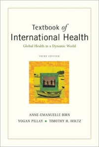 Textbook of International Health: Global Health in a Dynamic World 3rd Edition 9780199719853 0199719853