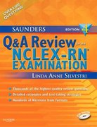 Saunders Q & A Review for the NCLEX-RN®  Examination 4th edition 9781416048503 1416048502