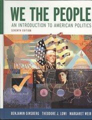We the People 7th edition 9780393932140 0393932141