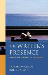 The Writer's Presence 6th edition 9780312486860 0312486863