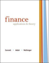 Finance: Applications and Theory 1st edition 9780073382258 0073382256