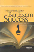 The Essential Rules for Bar Exam Success 1st edition 9780314176783 0314176780