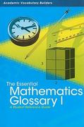 Essential Mathematics Glossary I 0 9781429627085 1429627085
