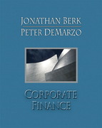 Corporate Finance 1st edition 9780135056554 0135056551