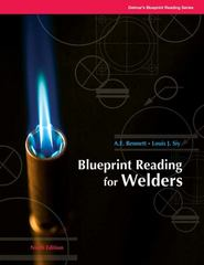 Blueprint Reading for Welders 8th Edition 9781428335288 1428335285