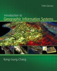 Introduction to Geographic Information Systems with Data Files CD-ROM 5th Edition 9780077294366 007729436X
