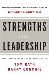 Strengths Based Leadership 1st edition 9781595620255 1595620257