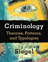 Criminology 10th edition 9780495600138 049560013X