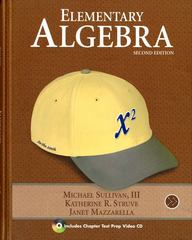 Elementary Algebra 2nd edition 9780321567482 032156748X