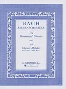 371 Harmonized Chorales and 69 Chorale Melodies with Figured Bass 1st Edition 9780793525744 0793525748