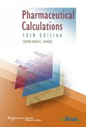 Pharmaceutical Calculations 13th edition 9781582558370 158255837X