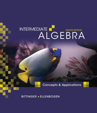 Intermediate Algebra 8th edition 9780321557186 0321557182