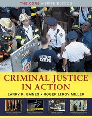 Criminal Justice in Action 5th edition 9780495601609 0495601608