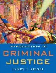 Introduction to Criminal Justice 12th edition 9780495599777 0495599778
