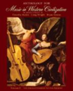 Anthology for Music in Western Civilization, Volume II 1st edition 9780495572756 0495572756