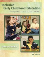 Inclusive Early Childhood Education 5th edition 9781428320864 1428320865