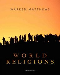 World Religions 6th edition 9780495603856 0495603856